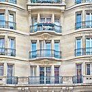 Flower Balcony - Paris by Yannik Hay