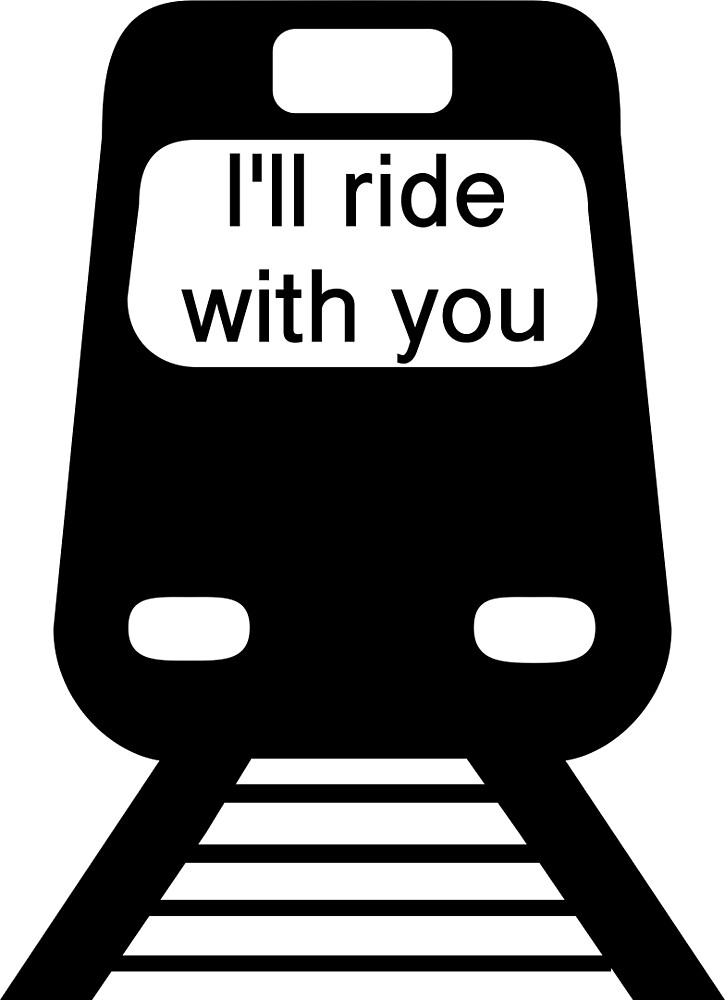 I'll ride with you (#Illridewithyou) train by Upbeat