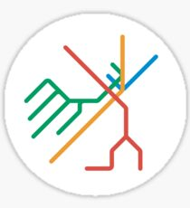 Mini Metros - Boston, United States Sticker