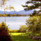 Autumnal Glance on Mirror Lake - Lake Placid by Yannik Hay