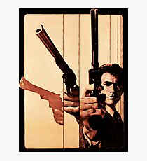 Clint has a gun Photographic Print