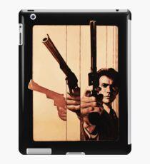 Clint has a gun iPad Case/Skin