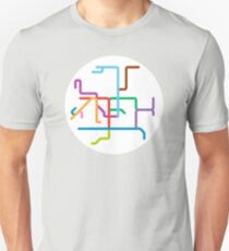 Mini Metros - Hong Kong Unisex T-Shirt