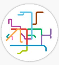 Mini Metros - Hong Kong Sticker