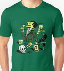 Drinks With The Mad Scientist Next Door Unisex T-Shirt