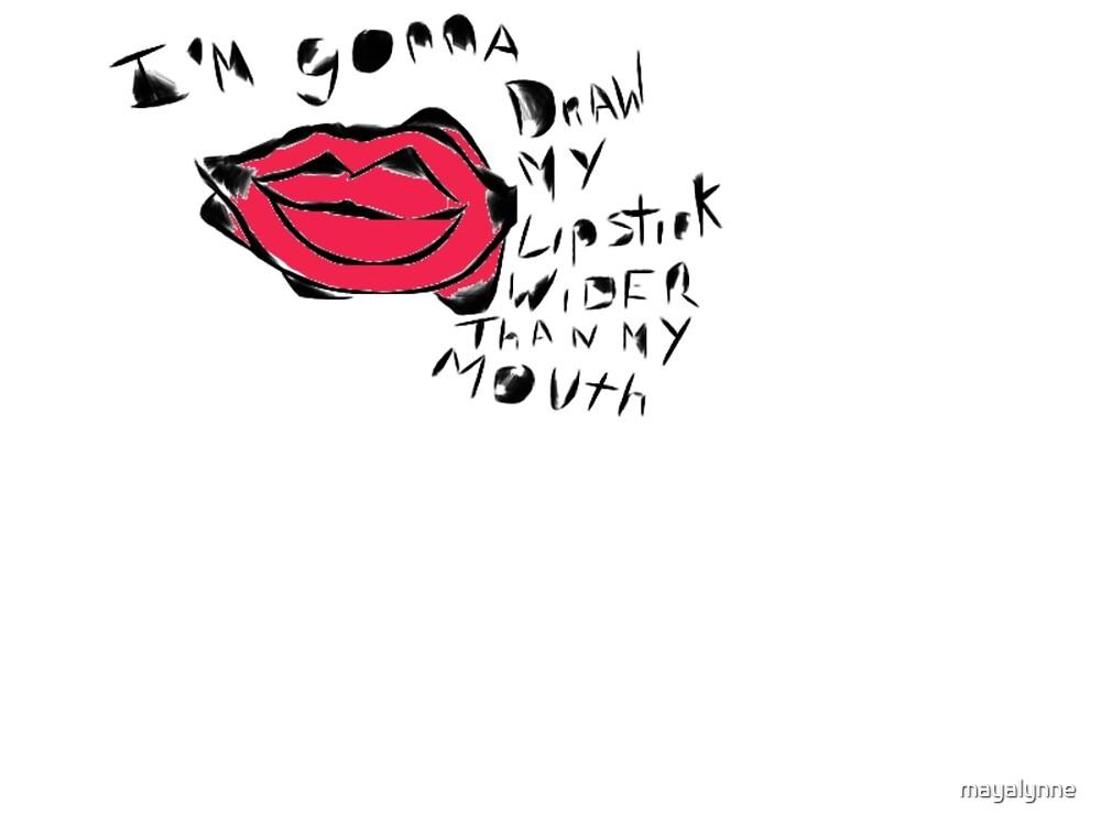 Fake Happy Lipstick by mayalynne