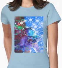 Astronaut dimensions Womens Fitted T-Shirt