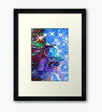 Astronaut dimensions Framed Print