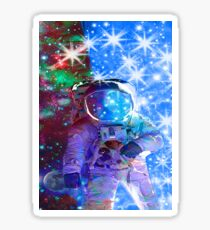 Astronaut dimensions Sticker