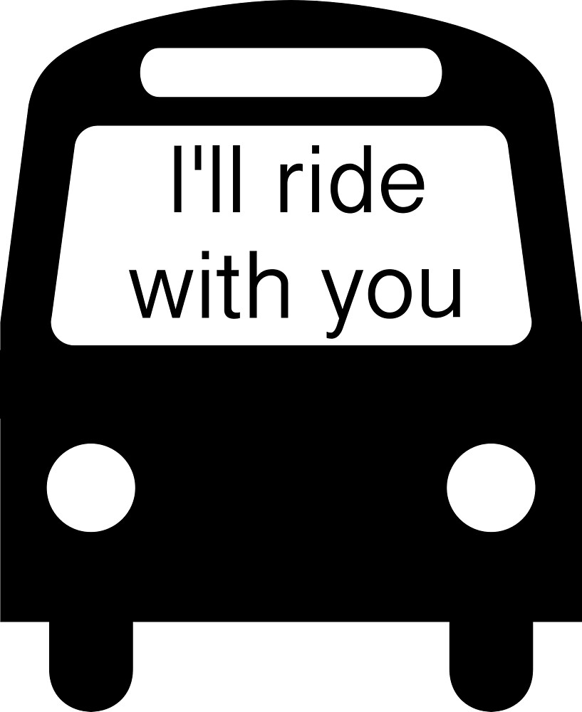 I'll ride with you (#Illridewithyou) bus by Upbeat