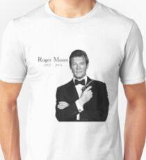 R.I.P Roger Moore T-Shirt
