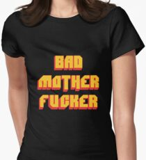 Pulp Fiction Bad MoFo Womens Fitted T-Shirt