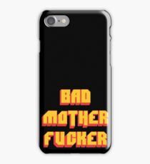 Pulp Fiction Bad MoFo iPhone Case/Skin