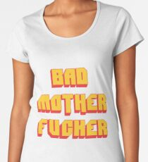 Pulp Fiction Bad MoFo Women's Premium T-Shirt
