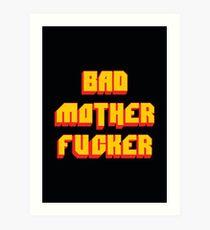 Pulp Fiction Bad MoFo Art Print