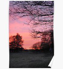 Sunset Drawsko 1 Poster