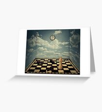 mystic chess room Greeting Card