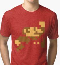 8 Bit Super Mario Tri-blend T-Shirt