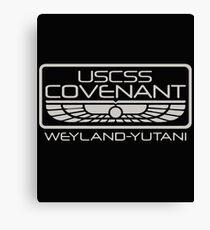 Alien Covenant mission Canvas Print