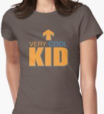 Very Cool Kid Womens Fitted T-Shirt