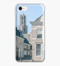 Achter de Dom (Utrecht) iPhone Case/Skin