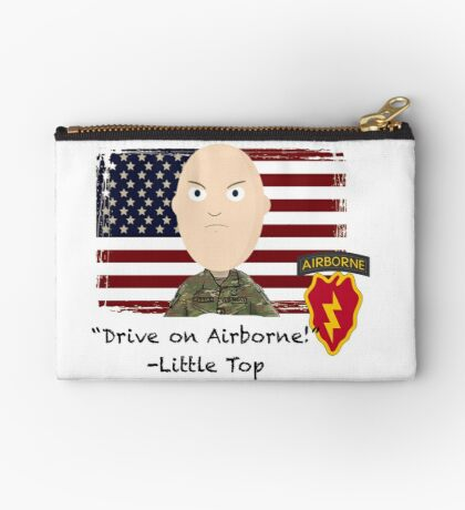 Drive on Airborne- 25th Zipper Pouch