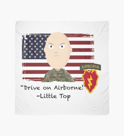 Drive on Airborne- 25th Scarf