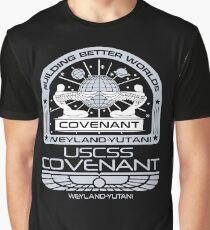 Alien Covenant mission - uscss covenant Graphic T-Shirt