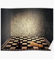 chess room limitations Poster