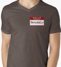 Hello, my name is Heimdallr Men's V-Neck T-Shirt