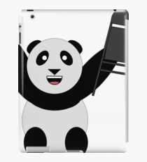 WWF Panda Parody Steel Chair iPad Case/Skin