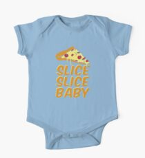 Pizza Slice Slice Baby One Piece - Short Sleeve