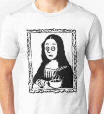 Coffee First Mocha Lisa Unisex T-Shirt