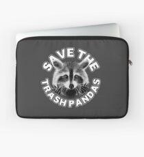 Save the Trash Pandas Raccoon Animal T-shirt Laptop Sleeve