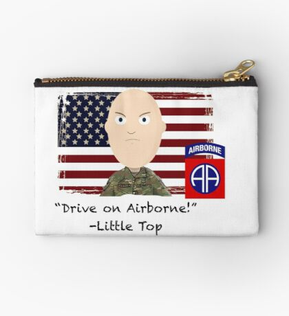 Drive on Airborne-82nd Zipper Pouch