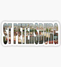 St Petersburg Sticker