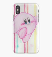 Kirby watercolor iPhone Case/Skin