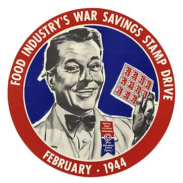Food Industry's War Savings Stamp Drive by Lueshis