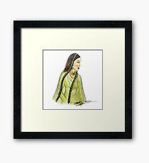 Mughal Bibi Framed Print