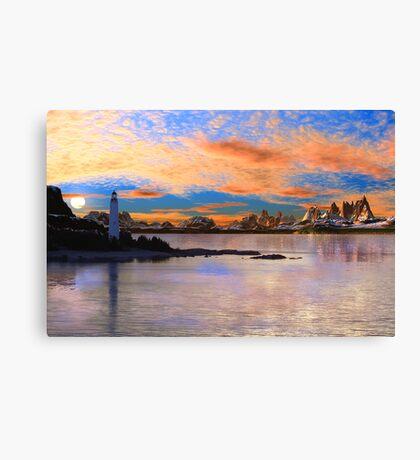 Cove Island Light. Canvas Print