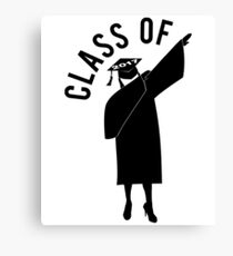 Dab Class of 2017 Girl Canvas Print