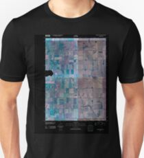 USGS TOPO Map Iowa IA Rush Lake East 20100427 TM Inverted Unisex T-Shirt