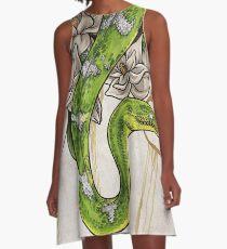 Serpent Robe trapèze