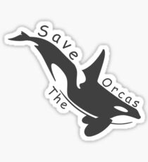 Save the Orcas Sticker