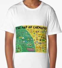 The Map of Chemistry Long T-Shirt