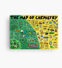 The Map of Chemistry Canvas Print