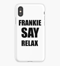 ross's shirt frankie relax iPhone Case/Skin