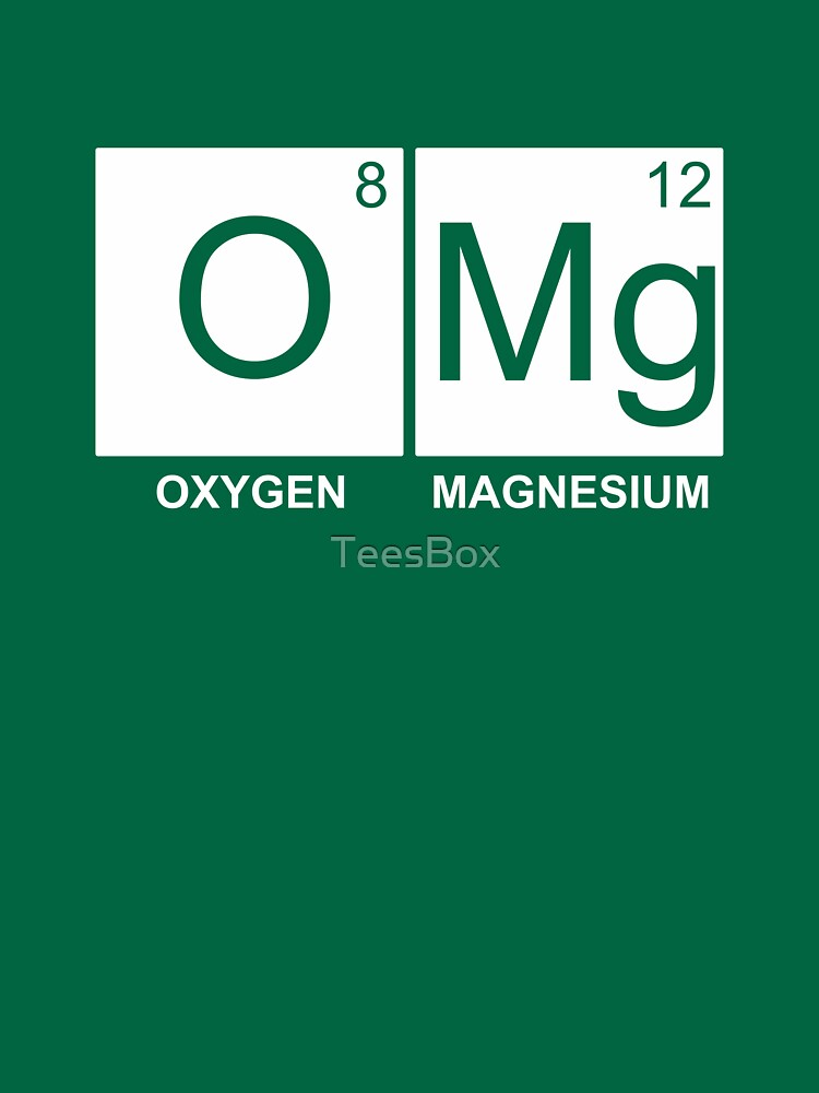 O-Mg - Oxygen Magnesium by TeesBox