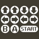 The Konami Code by TeesBox