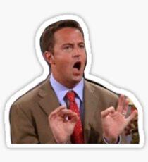 chandler bing friends Sticker